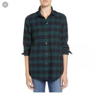 Madewell Classic Ex Boyfriend Flannel Shirt